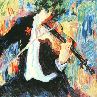 Violinist Limited Edition Print - Barbara Wood