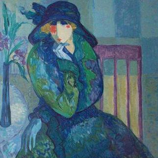 Mrs. Calabash 2001 Limited Edition Print by Barbara Wood