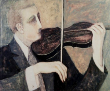 Violin Limited Edition Print - Barbara Wood