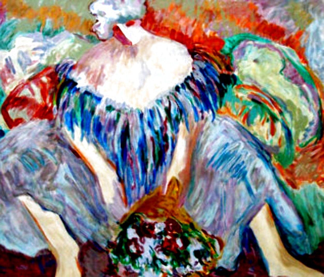 Blue Lady AP 1996 Limited Edition Print by Barbara Wood