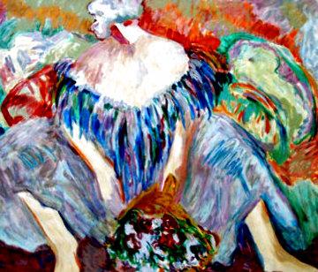 Blue Lady AP 1996 Limited Edition Print - Barbara Wood