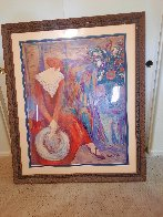Taffeta And Lace 1999 Huge 53x44 Limited Edition Print by Barbara Wood - 1