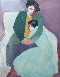 Circle of Love 1985 Limited Edition Print - Barbara Wood