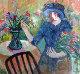 Fall Bouquet Limited Edition Print - Barbara Wood