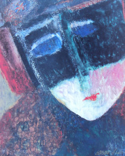 Mask 2000 Limited Edition Print - Barbara Wood
