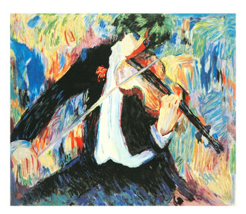Violinist  Limited Edition Print by Barbara Wood