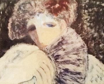 Fan 1987 Limited Edition Print by Barbara Wood