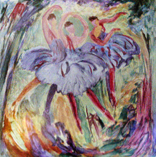 Arabesque 2000 Limited Edition Print by Barbara Wood