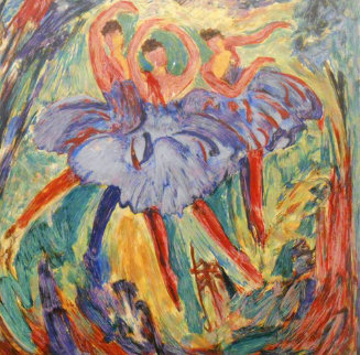 Arabesque 2001 Limited Edition Print by Barbara Wood