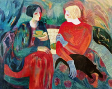 Reminiscing 1990 Limited Edition Print by Barbara Wood