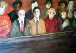 Jury Limited Edition Print - Barbara Wood
