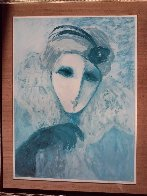 Mysterious Woman Limited Edition Print by Barbara Wood - 1
