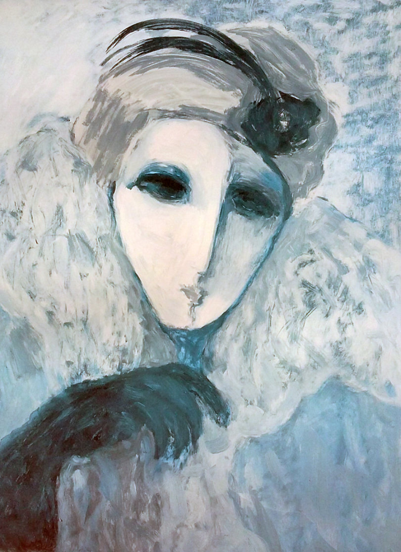Mysterious Woman Limited Edition Print by Barbara Wood