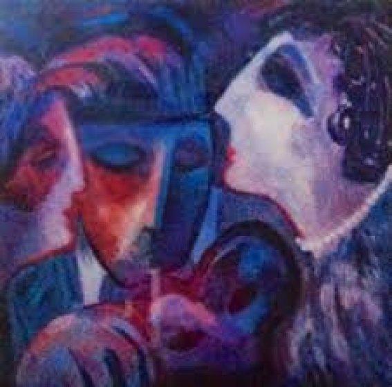 Masquerade 1999 Limited Edition Print by Barbara Wood
