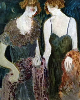 Two Sisters 1993 Limited Edition Print by Barbara Wood