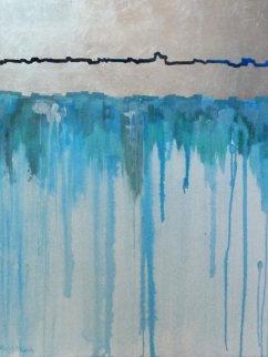 Melting Glaciers II 48x36 Super Huge Original Painting - Marjorie Wood Hamlin