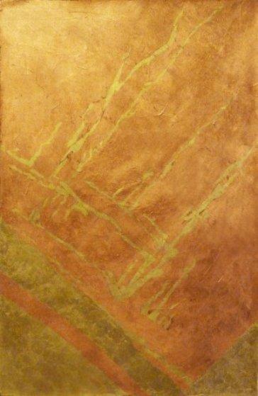 Earthquake 36x24 Original Painting by Marjorie Wood Hamlin