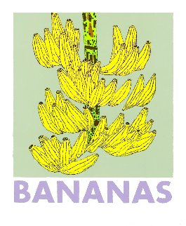 Bananas 2021 Limited Edition Print - Jonas Wood