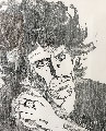 Keith 1984 AP Limited Edition Print - Ronnie Wood (Rolling Stones)