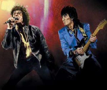 Satisfaction II 2003 Limited Edition Print by Ronnie Wood (Rolling Stones)