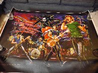 Skulls on Stage II 2009 Limited Edition Print by Ronnie Wood (Rolling Stones) - 2