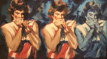 Mick Takes I 2004 Limited Edition Print by Ronnie Wood (Rolling Stones)