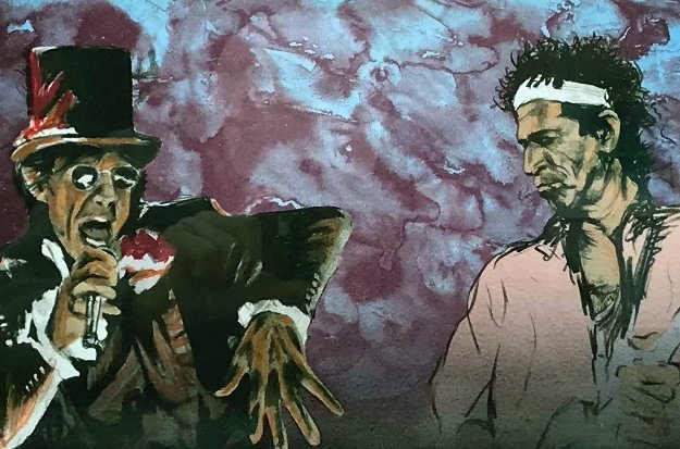 Voodoo 4 1996 Limited Edition Print by Ronnie Wood (Rolling Stones)