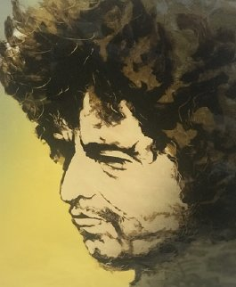 Bob Dylan 1991 Limited Edition Print - Ronnie Wood (Rolling Stones)