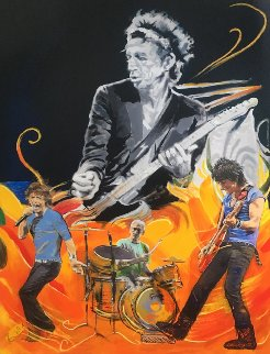 Wah Wah 2011 Limited Edition Print - Ronnie Wood (Rolling Stones)