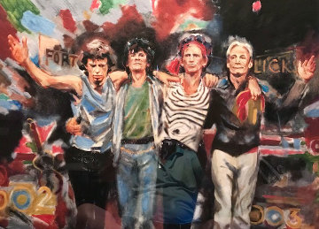 Forty Licks 1996 Limited Edition Print by Ronnie Wood (Rolling Stones)