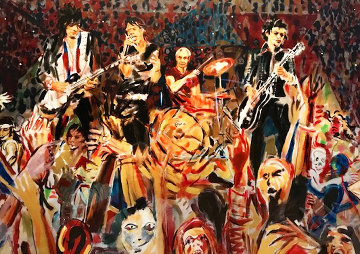 B Stage 2006 Limited Edition Print - Ronnie Wood (Rolling Stones)