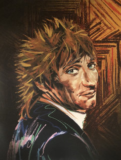 Rod    Limited Edition Print by Ronnie Wood (Rolling Stones)