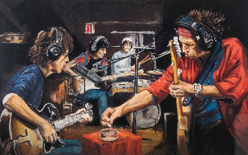 Conversation Piece 2005 Limited Edition Print - Ronnie Wood (Rolling Stones)
