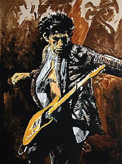 Now Then Always, Set of 3 Prints 2009 Ronnie, Jimi, Slash Limited Edition Print - Ronnie Wood (Rolling Stones)
