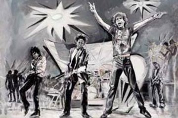 Bigger Bang 2005 Limited Edition Print by Ronnie Wood (Rolling Stones)