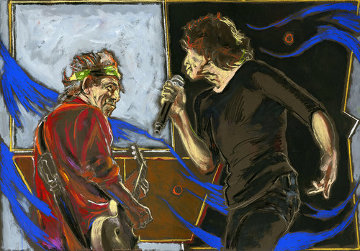 Connection Limited Edition Print - Ronnie Wood (Rolling Stones)