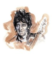 Drawn to Life: Ronnie Limited Edition Print by Ronnie Wood (Rolling Stones) - 1