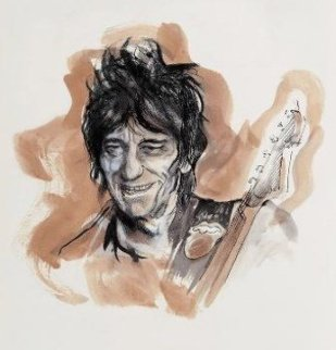 Drawn to Life: Ronnie Limited Edition Print - Ronnie Wood (Rolling Stones)