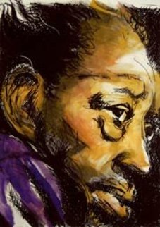 Duke Ellington Limited Edition Print by Ronnie Wood (Rolling Stones)