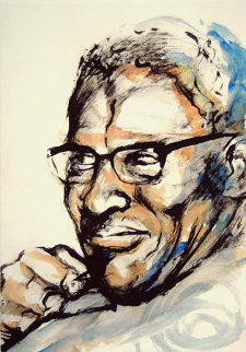 Howlin Wolf Limited Edition Print by Ronnie Wood (Rolling Stones)