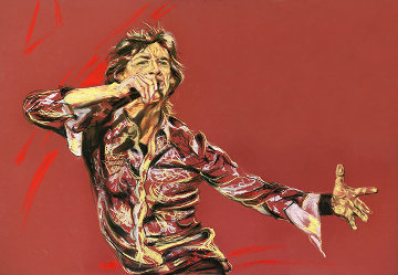 Outstretched Limited Edition Print by Ronnie Wood (Rolling Stones)