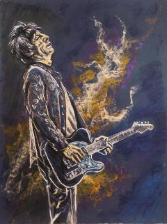 Self Portrait II Limited Edition Print by Ronnie Wood (Rolling Stones)