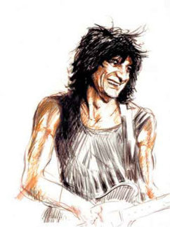Voodoo Ronnie Limited Edition Print - Ronnie Wood (Rolling Stones)
