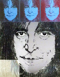 John Lennon 1988 Limited Edition Print - Ronnie Wood (Rolling Stones)