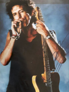 Voodoo Keith 1996 Limited Edition Print - Ronnie Wood (Rolling Stones)