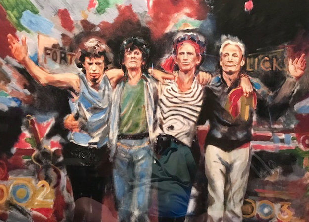 Forty Licks 2003 by Ronnie Wood (Rolling Stones)