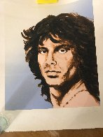 Jim Morrison 1991 Limited Edition Print by Ronnie Wood (Rolling Stones) - 1