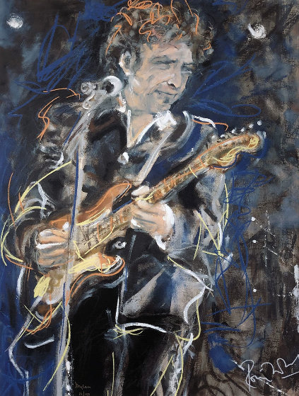 Dylan 1991 Limited Edition Print by Ronnie Wood (Rolling Stones)