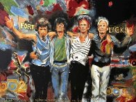 Forty Licks 2002 Limited Edition Print by Ronnie Wood (Rolling Stones) - 0