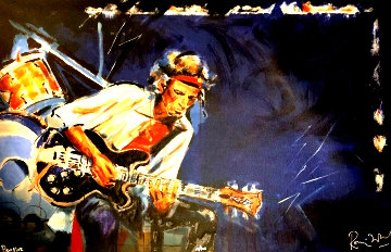 Pensive 2005 Limited Edition Print by Ronnie Wood (Rolling Stones)